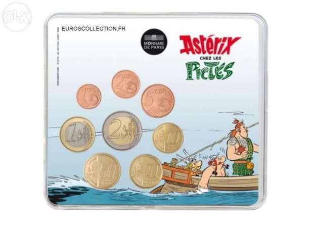 Carteira euros frança 2013 FDC – Asterix