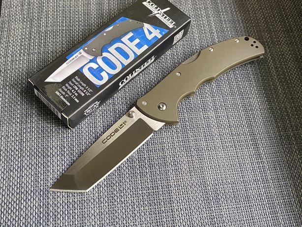 Нож Cold Steel Code 4 Tanto