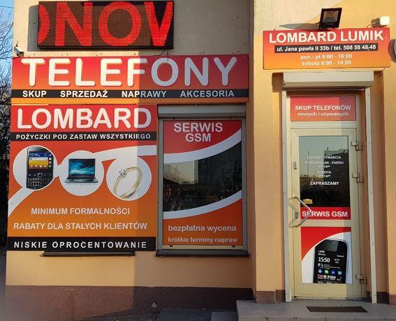 Lombard LUMIK SIERADZ skup sprzedaż telefonów,laptopów,narzędzi i inne