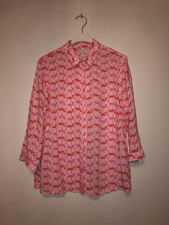 Koszula stradivarius flamingi