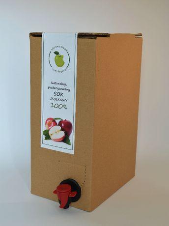 Sok jabłkowy bag in box 5L z dzikich eko sadów