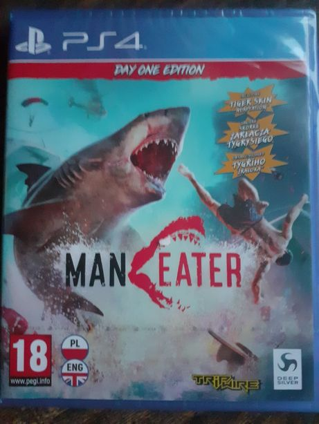 Maneater gra na PS4