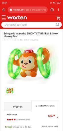 Brinquedo bebê - anda , luzes , musica