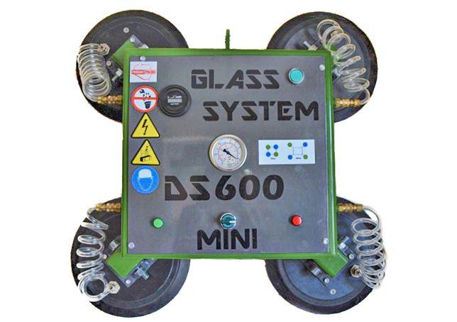 Wynajem chwytaka do szkła DS 600 MINI - DS System