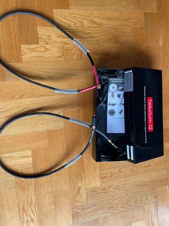 Kable rca tellurium ultra black wersja II najnowsza 3- miesięczne 1 mb