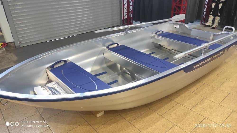Новая Алюминиевая лодка Linder 355 Киев - изображение 1