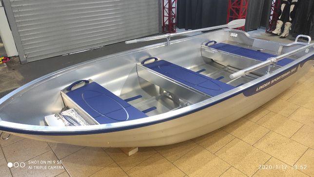 Новая Алюминиевая лодка Linder 355