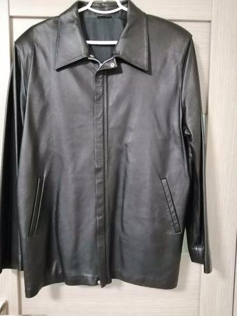 Продам кожаную мужскую курточку