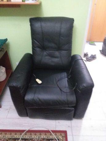 Fotel rozkladany elektrycznie