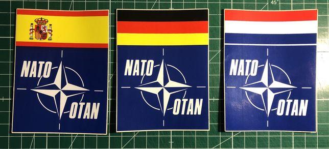 Autocolantes da Nato