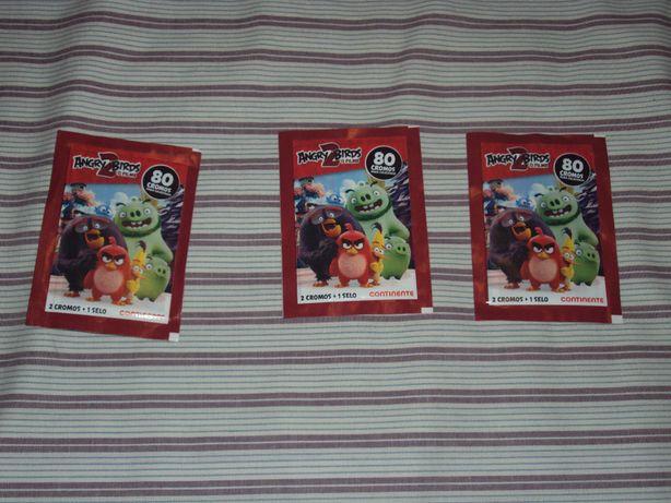 SAQUETAS de cromos Angry Birds 2 do continente