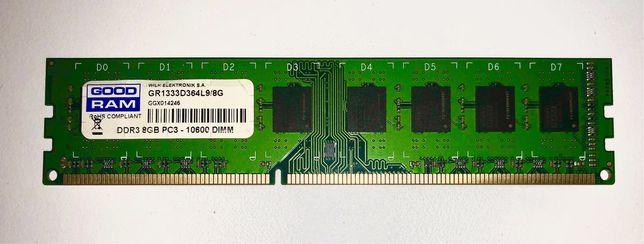 Оперативная память GOODRAM DDR3 1x8Gb