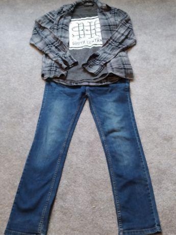 Zestaw ubrań 158 cm