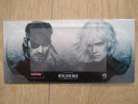 Skin Metal Gear Solid do PS Vita