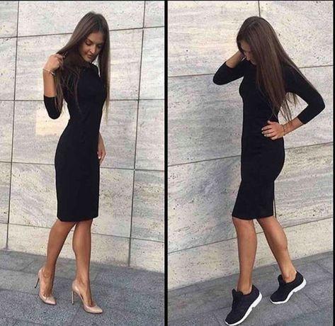 Чёрное платье на все случаи