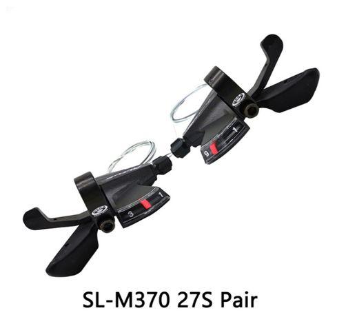 Переключатели, манетки, 9 ск. Shimano SL-M370 ( в наличии )
