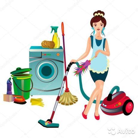Уборка квартир,домов, офисных помещений