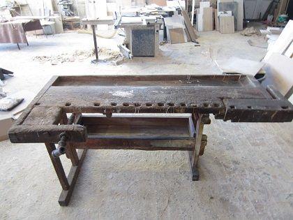Stół stolarski stary
