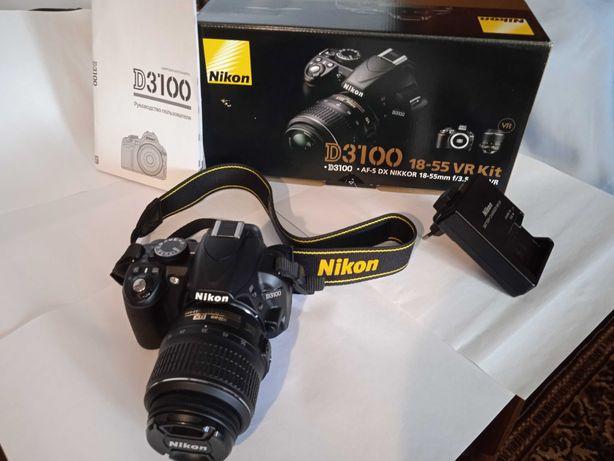 Фотоапарат Нікон D3100 дзеркальний