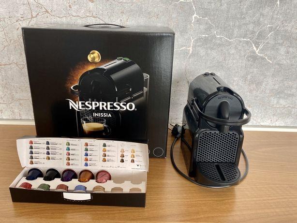 NESPRESSO INISSIA - Maquina de Cafe Preta + capsulas