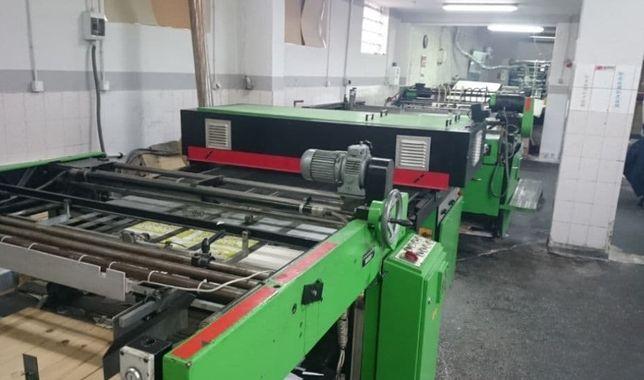 Maszyna do sitodruku Svecia B0 Linia 1998 Automat