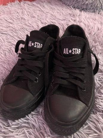 Кеды черные all star