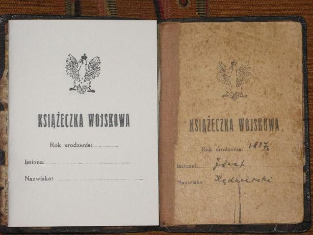 książeczka wojskowa reprint kopia żołnierz II RP