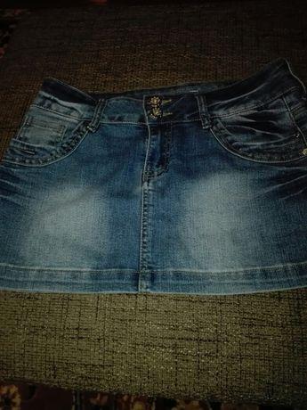 Spódnica dżinsowa roz 38 cena 30