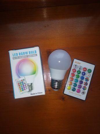 Светодиодная rgb лампочка