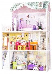 Кукольный домик Домик для барби деревянный Beverly Hills