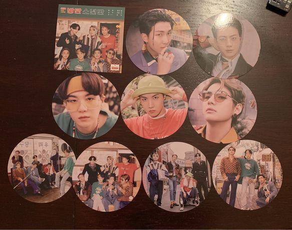 Mini plakaty BTS kpop