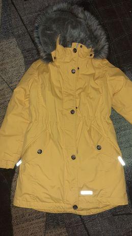 Детская зимняя куртка (парка). Для девочки.