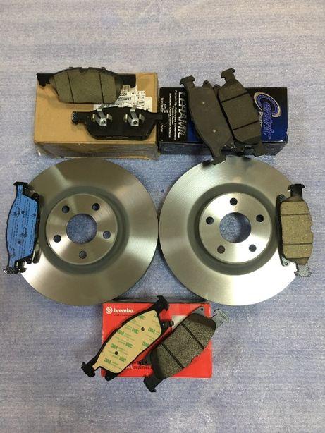 Тормозные диски, тормозные колодки к Ford Edge 2015 - 2020