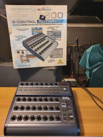 Behringer BCR2000 kontroler MIDI + licencja Zaquencer sequencer