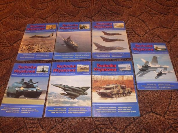 Czasopismo Technika Wojskowa z lat 91-95