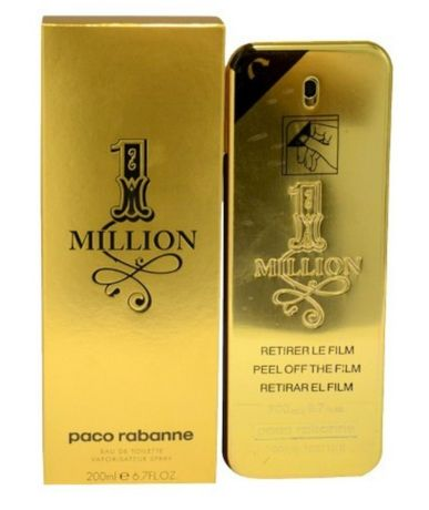Perfume 1 Million 200ml selado