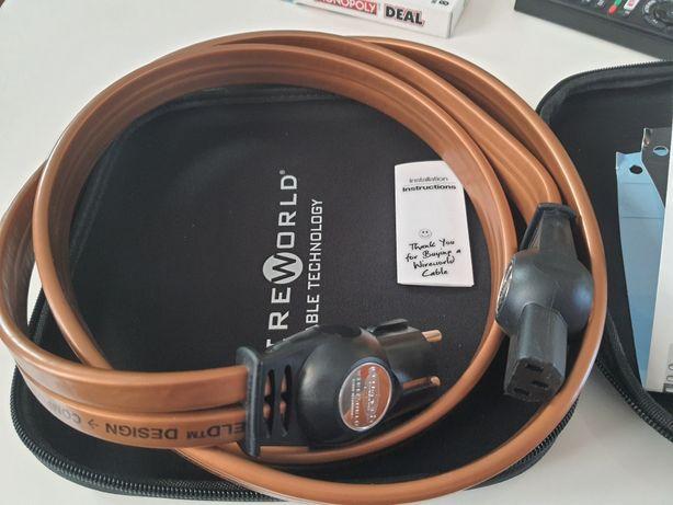 Kabel zasilający Wireworld Electra 7, 2m, jak nowy