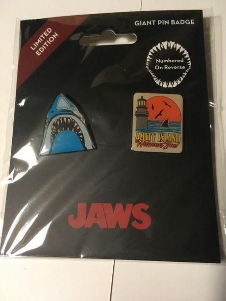 JAWS 2 pins de colecção , tubarão, baralho de cartas