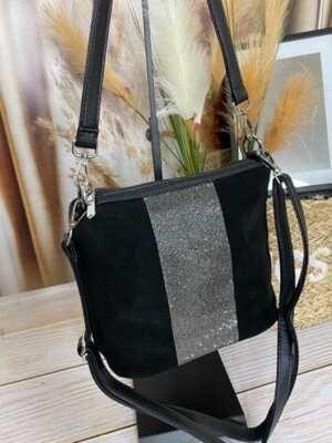 Модная сумки из натуральной замши