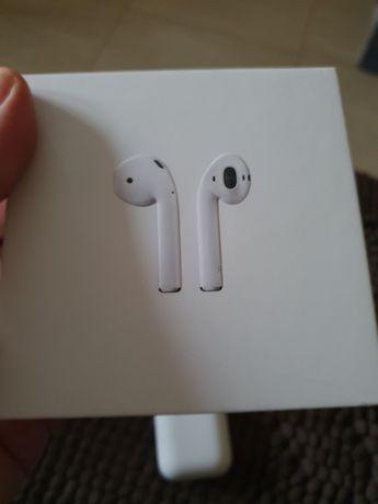 Apple Airpods 1 gen, prawa słuchawka działa krótko...