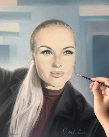 Портрет маслом, портрет на заказ