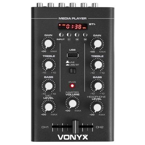 Mikser 2-kanałowy USB/MP3/BT STM500BT Vonyx