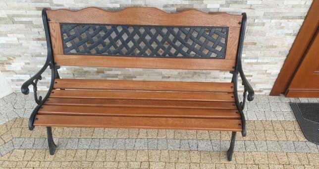 nowa ławka ozdobna ogrodowa domowa
