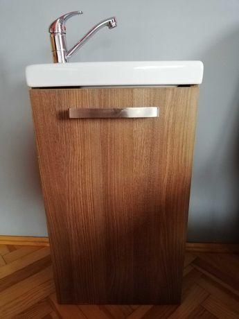 Cersanit szafka z umywalka 40cm i bateria