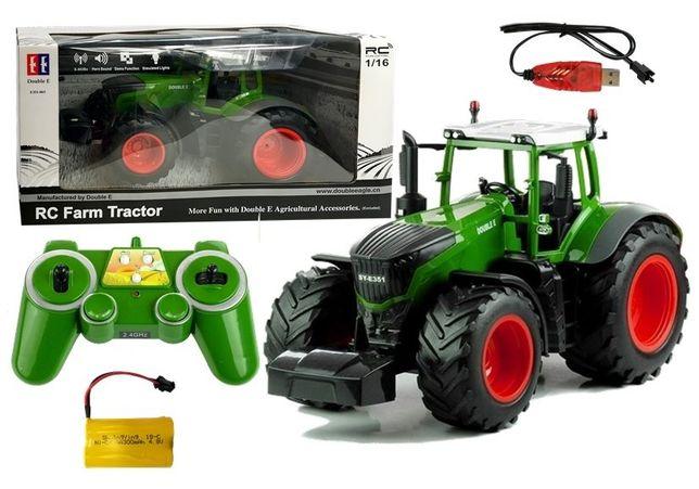 Zdalnie Sterowany Traktor 1:16 Double E Darmowa wysyłka