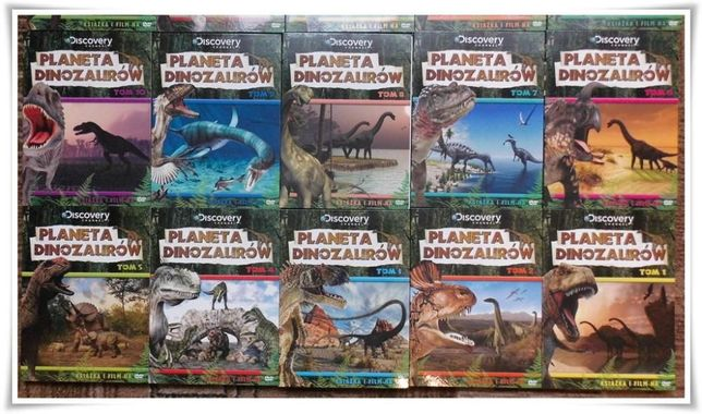 Dinozaury i GRATIS