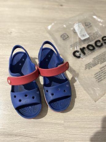 Сандали Crocs, размер C13 - 19 см.