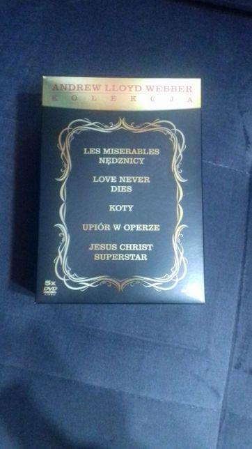 Andrew Lloyd Webber kolekcja musicali, 5 dvd