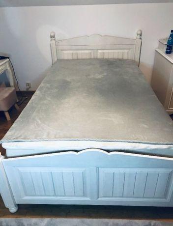 Łóżko drewniane białe Cindirella