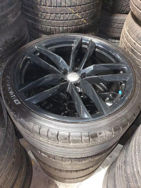 Koła Black Audi A7 S7 RS7 A6 S6 RS6 S8 A8 275/30R21 Dunlop GT 7,5mm